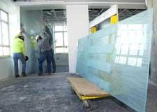 Glass Install / Glazing