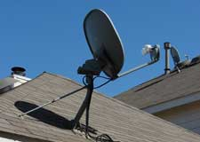 Satellite Dish Install